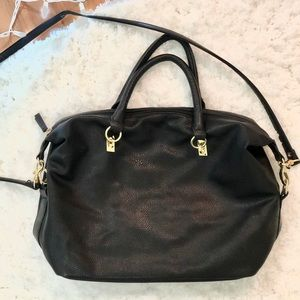 H&M black shoulder bag